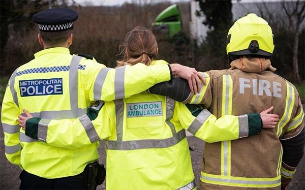 Ambulance Service, Fire and NCA